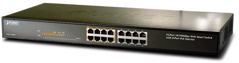 Planet POE Switch