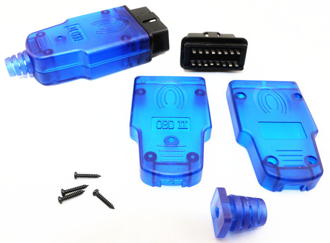 OBD-II J1962M Connector (Blue)