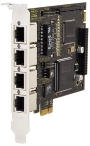 Digium TE420 PCI Express Card